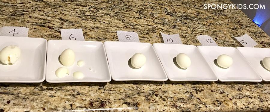 Peeling eggs Perfect Hard Boiled Eggs