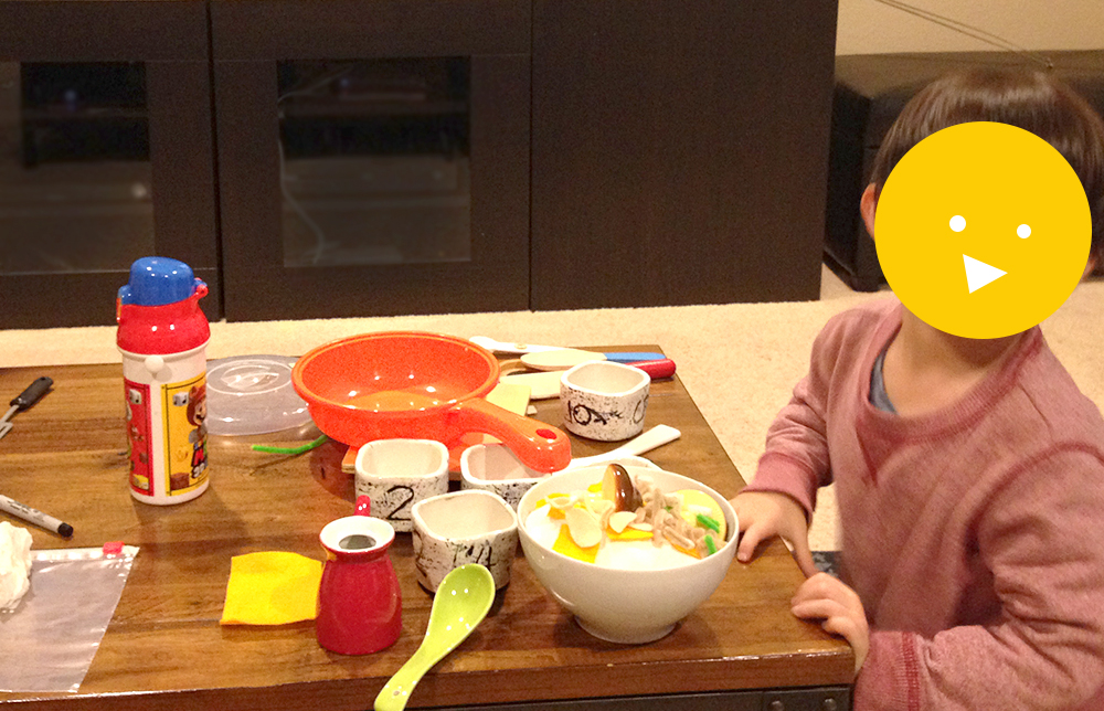 Pretend Play Ideas Cooking Show with kids