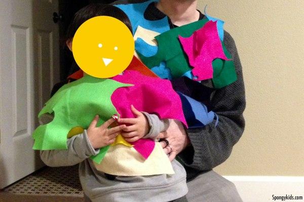 Kids activity: Pretend Play Fashion Show with Felt