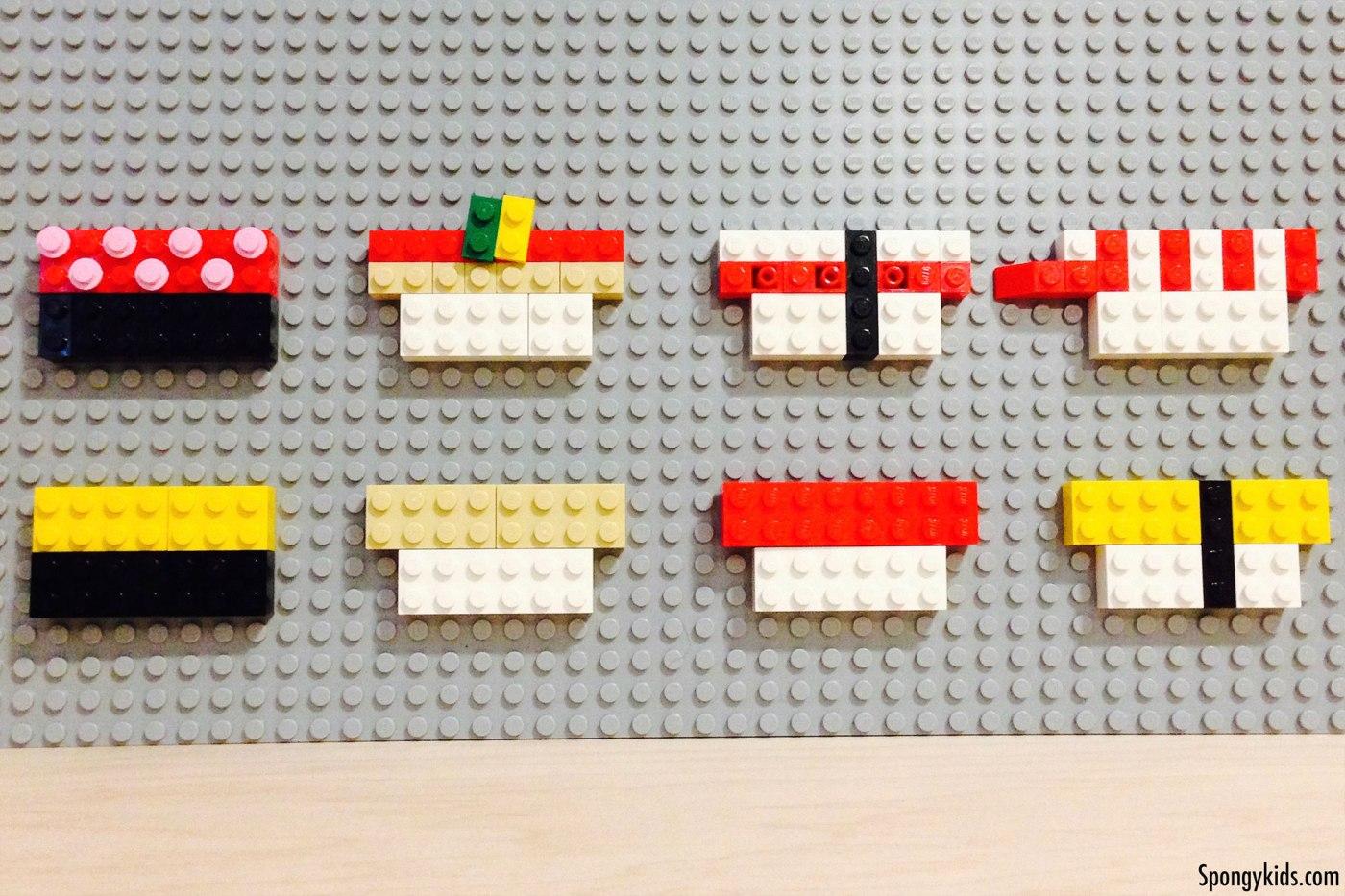 Lego Nigiri Sushi