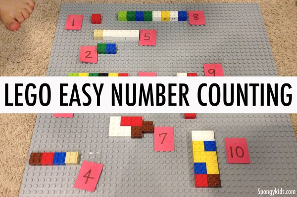 Lego Easy Number Counting - Develop Counting Skills