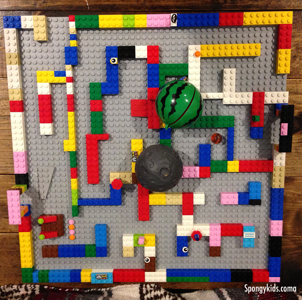 Fun Learning Activities for Kids - Lego Maze