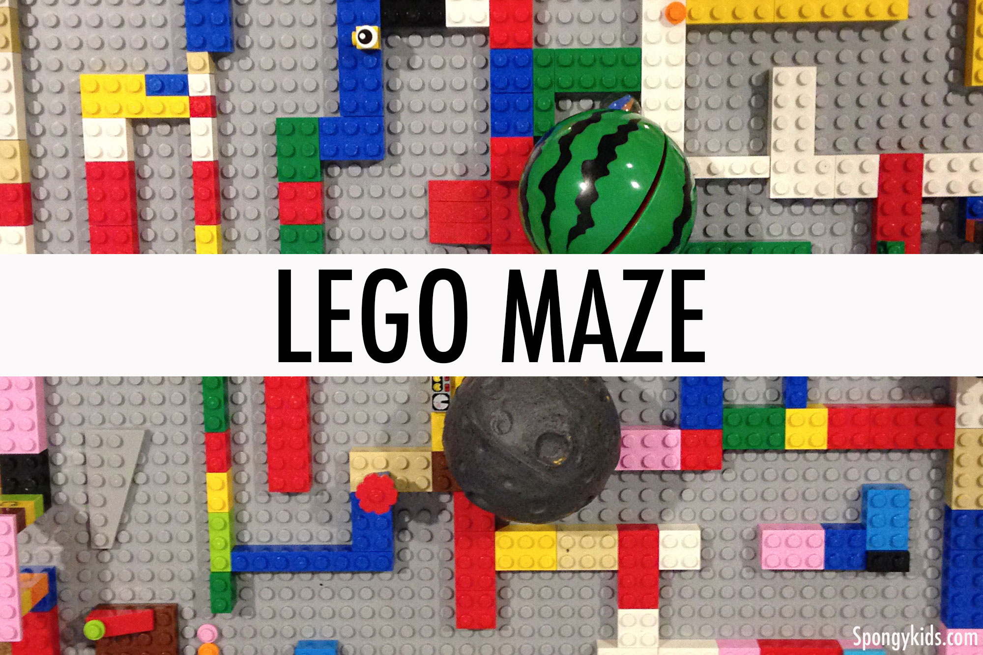 Lego maze - Learning Activities to Keep Kids Busy