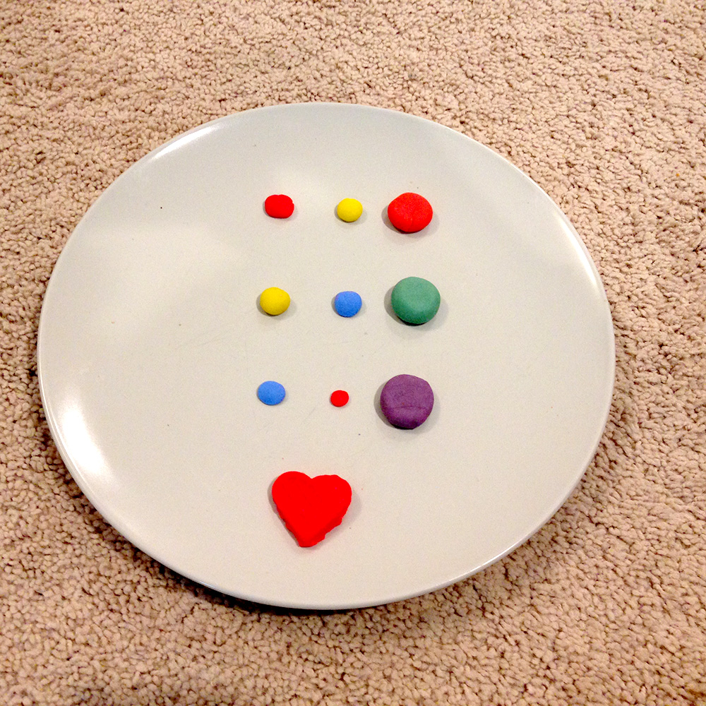Color Mixing with Play doh: Secondary Colors