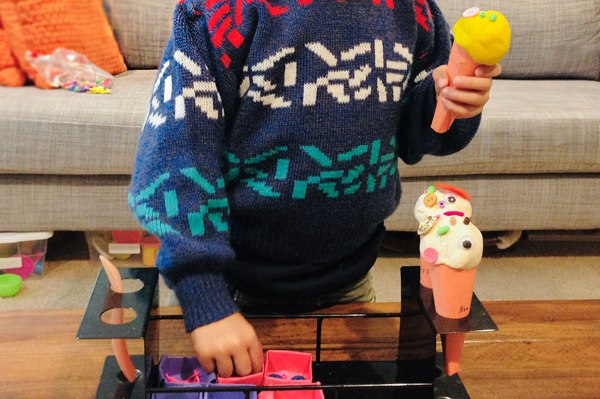 Pretend Play Idea Ice Cream Shop