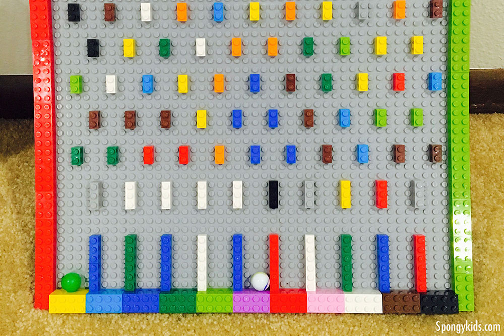 Learning Probability & Odds with Lego