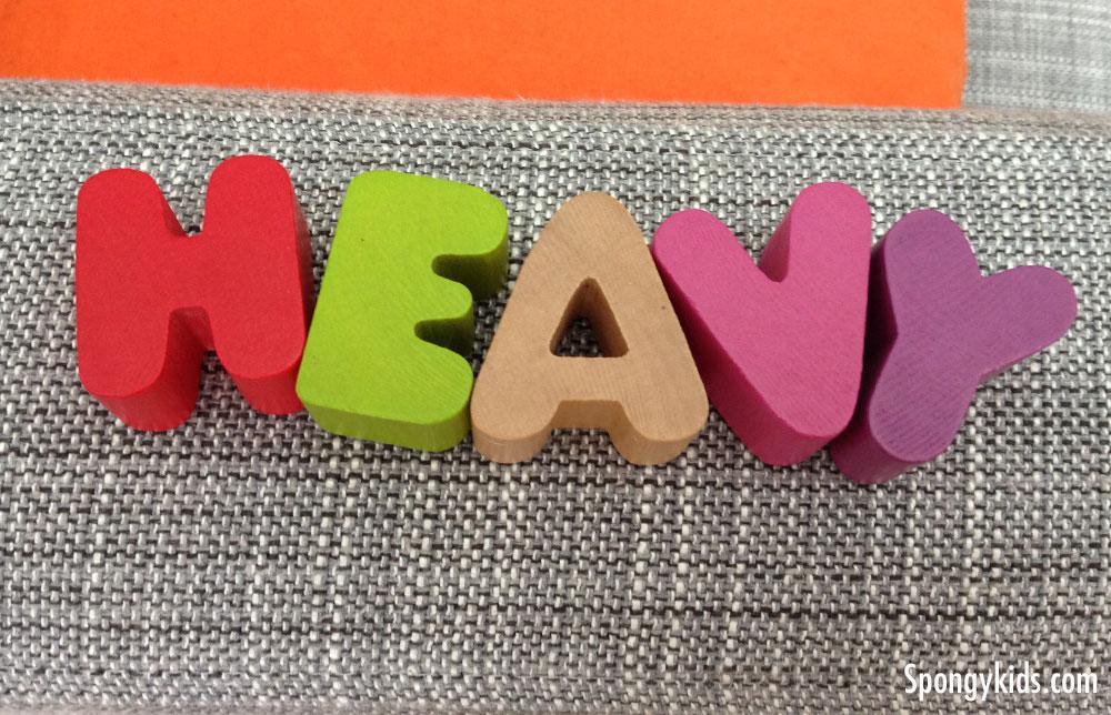 Copy Spelling - Heavy