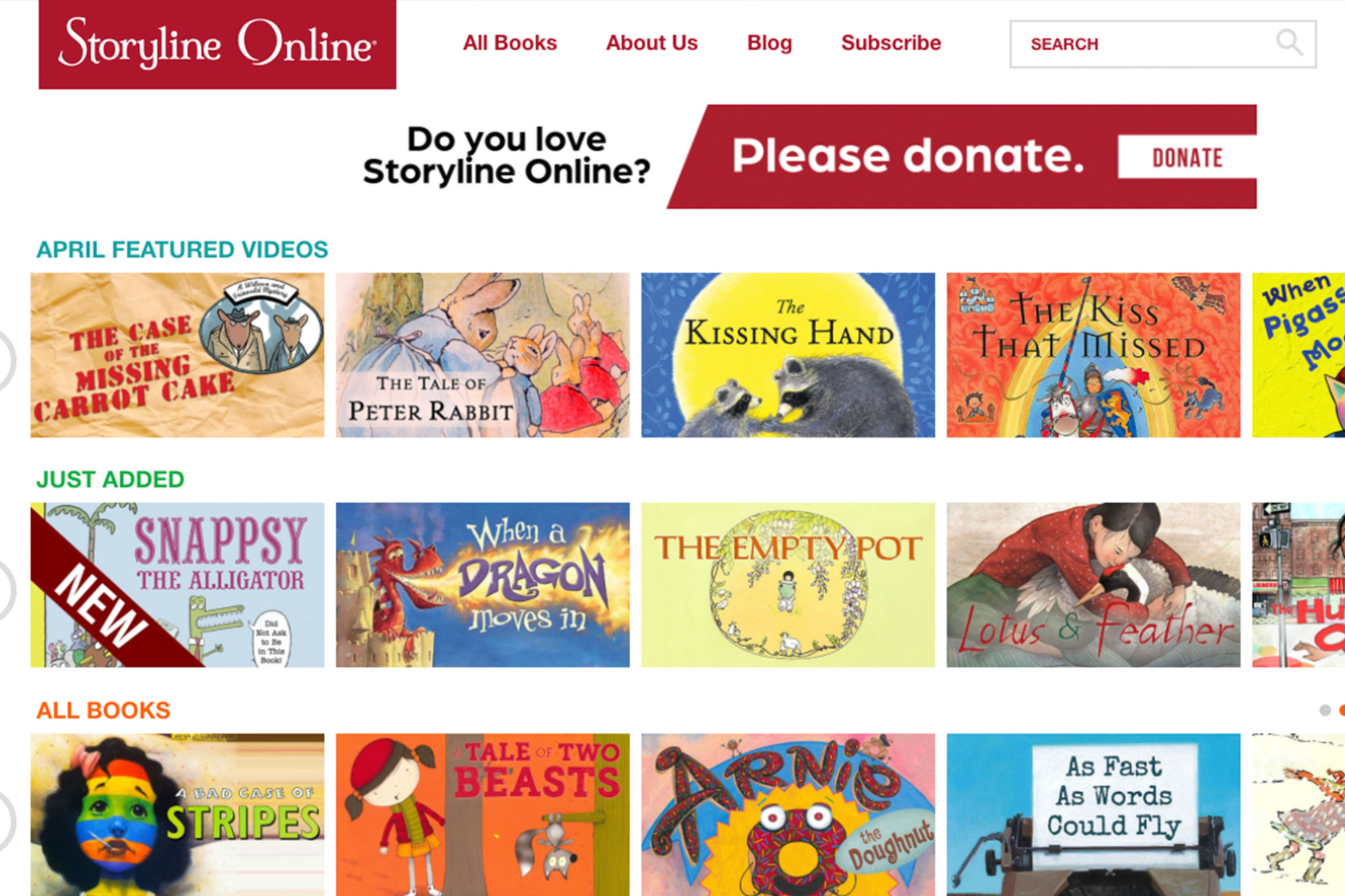 Storyline Online - Great Online Resources for Reading