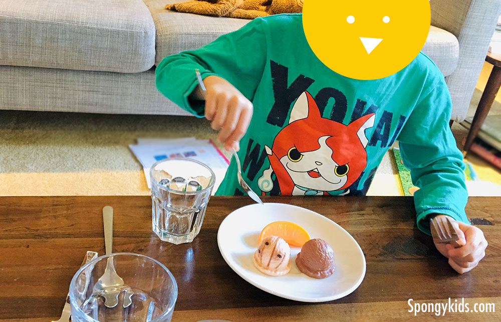 Table Setting and Manners for Kids Pretending to eat desserts!