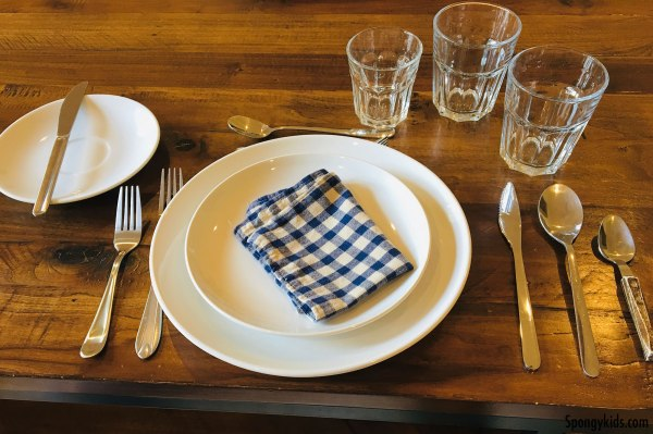 Table Setting and Manners for Kids