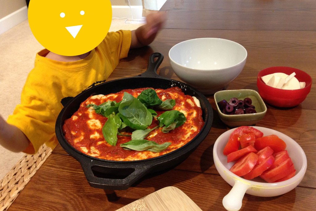 Making Your Own Pizza with Kids