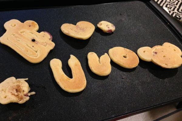 Pancake Art with Kids