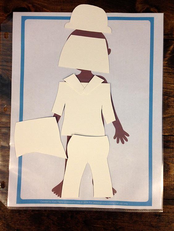 Pretend Play for Kids: Fashion Designer Cutting Paper