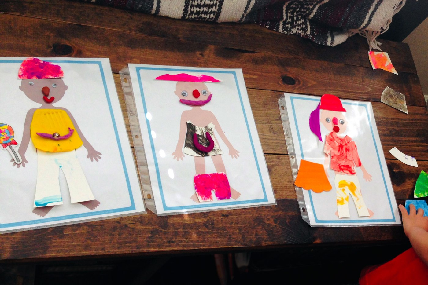 Fashion design with Kids