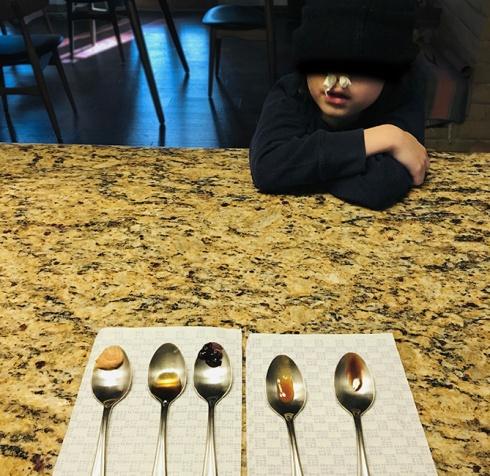 The Sense of Taste for Kids Tasting Experiment2