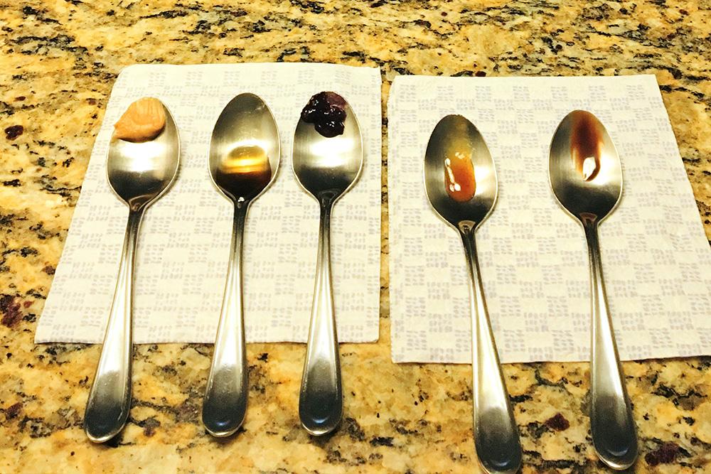 Tasting Spoons Sense of Taste - Taste and Guess Game for Kids