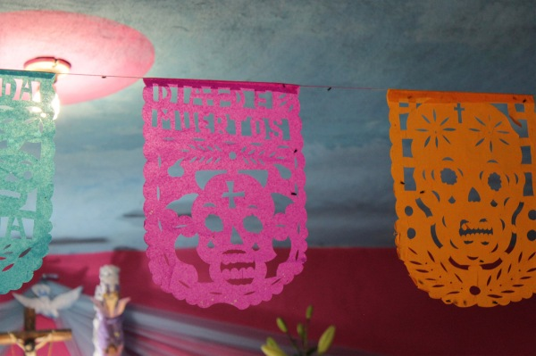 Making Papel Picado with Kids