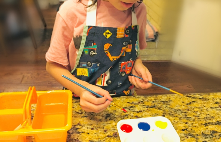 Mixing color activity for kids Spongykids