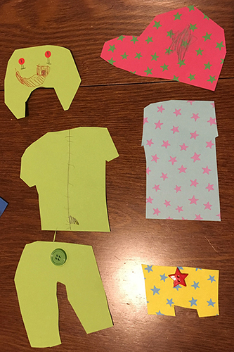 Kids Activity idea: Design what you want to wear
